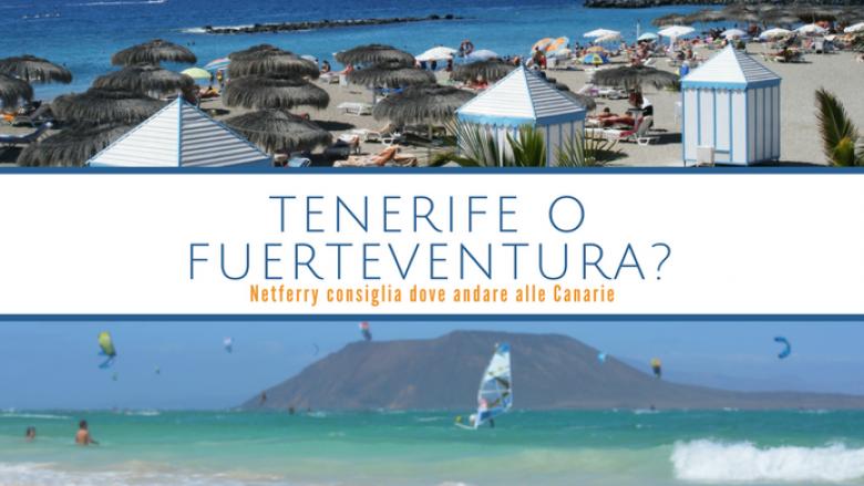 Tenerife o Fuerteventura? Netferry consiglia dove andare ...
